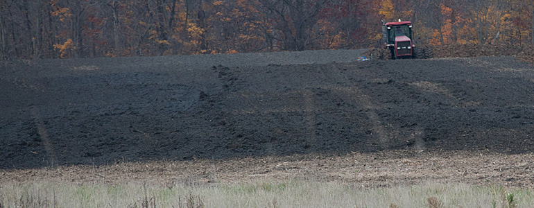 Saturation of land with semi-solid CAFO Waste