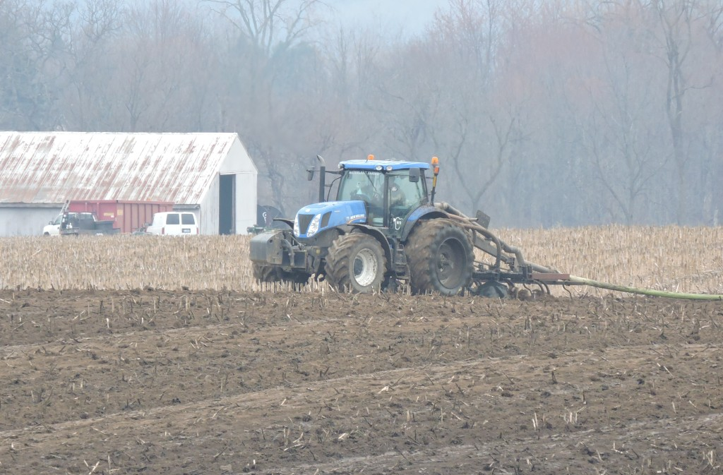Draglining Manure, Lenawee County