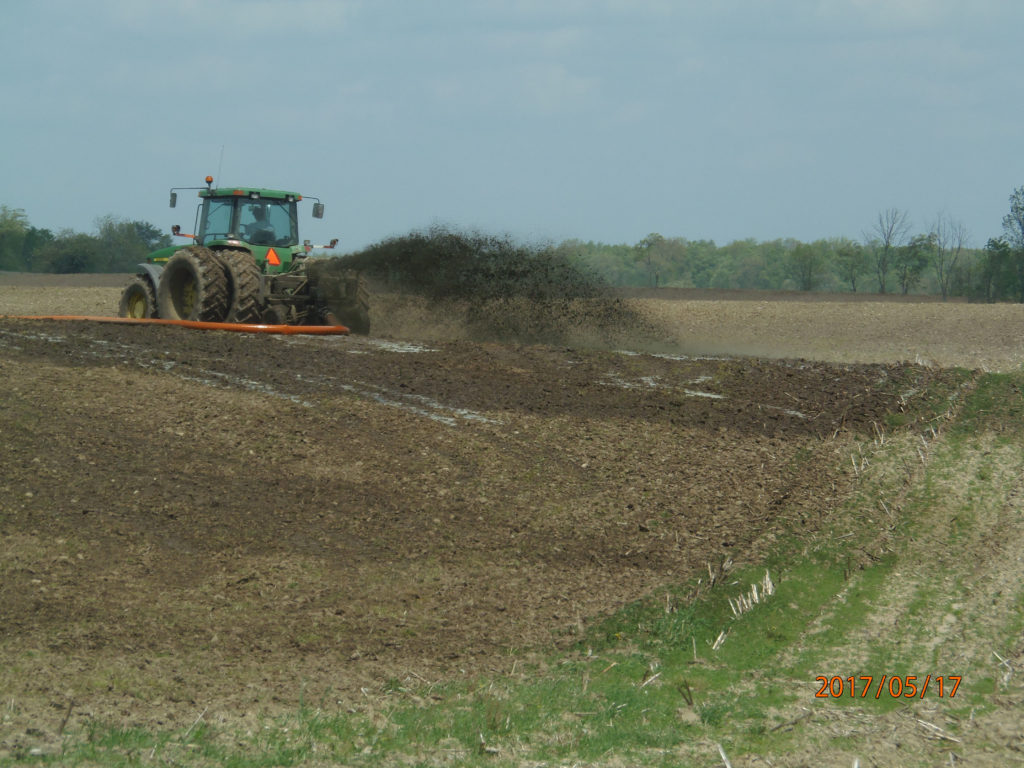 Hartland Dragooning of Liquid Manure