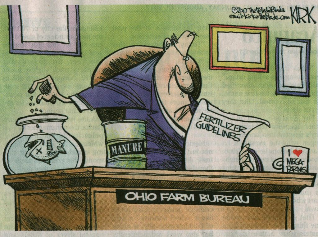 Toledo Blade: Ohio Farm Bureau's relationship to local fish