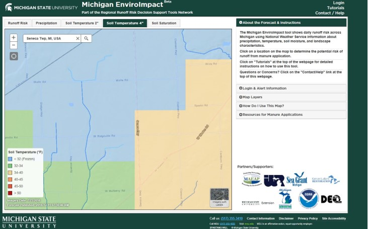 Legend Dairy MSU Enviroimpact Map 12.17.18